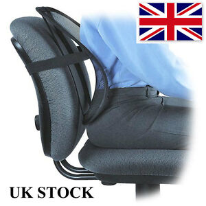Back Support Lumbar Cushion Pain Relief Car Seat Chair Office Seat