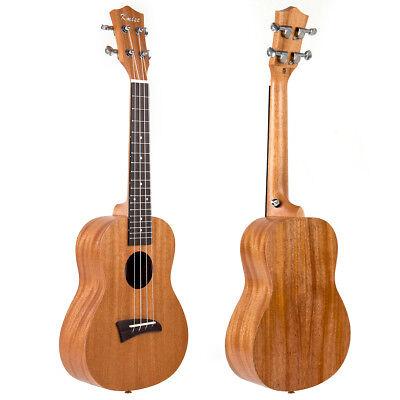 Concert Ukulele Ukelele 23 inch Hawaii Guitar Mahogany Wood for Beginner Gift comprar usado  Enviando para Brazil