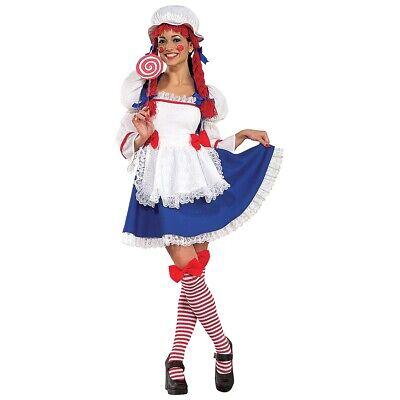lt Raggedy Ann Halloween Fancy Dress (Rag Doll Halloween Kostüm)