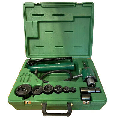 Greenlee 7306sb Hydraulic Knockout Knock Out Punch Driver Set 12 - 2