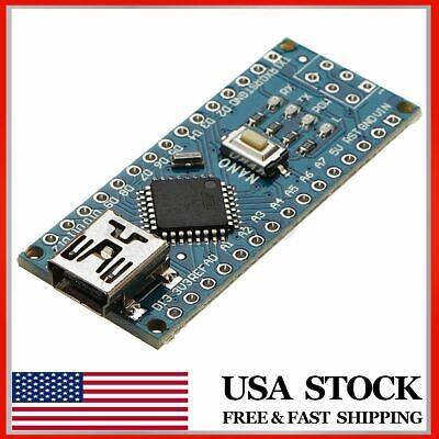 Mini B Nano For Arduino V3.0 Atmega328p Ch340g Chip Micro-controller  Us