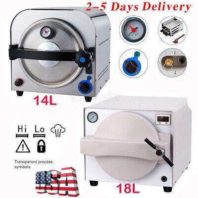 14l18l Dental Autoclave Steam Sterilizer Medical Sterilization Automatically