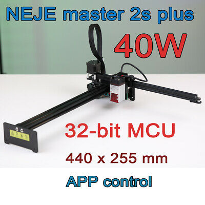 Neje Master Plus 40w Cnc Laser Engraving Cutting Milling Machine Engraver Router
