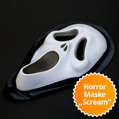 pfmaske Horror Halloween Totenkopf Scary Movie Verkleidung (Halloween Movie Horror)