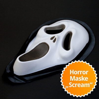 Scream Maske Totenkopfmaske Horror Halloween Totenkopf Scary Movie Verkleidung