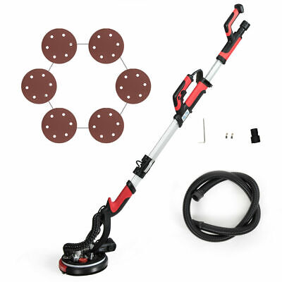 Electric Drywall Sander 750w Adjustable Speed Wsanding Pad Light