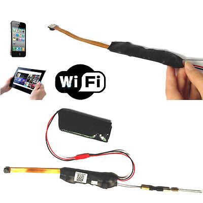 Mini Wireless Hd 720P Hidden Camera Wifi Module Dvr Video Ip P2p Recorder Newfh