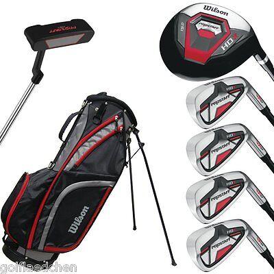 Wilson Pro Staff HDX Halbsatz Golfset 2017 - Stahl, Herren RH - NEU - UVP 250 €