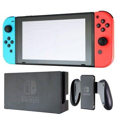 Nintendo Switch 32GB Console - Black (HAC-001) / Red-Blue OEM Joy Con
