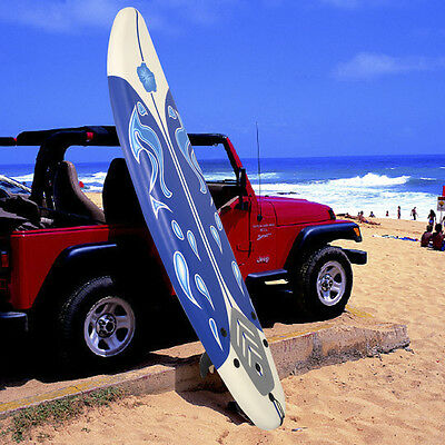 Kyпить Goplus 6' Surfboard Surf Foamie Boards Surfing Beach Ocean Body Boarding White на еВаy.соm