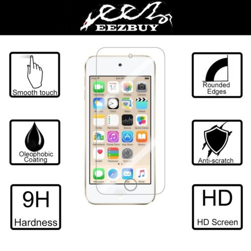 Tempered Glass Screen Protector For Apple iPod Touch 5 6 (5th/6th) Gen