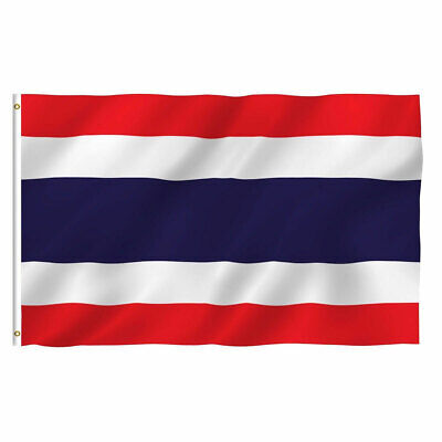 Thailand Thai Flag 3×5 Polyester Indoor Outdoor Flag Country House Banner Décor