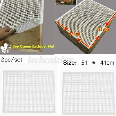 10-frame Bee Queen Honey Excluder Trapping Net Grid Beekeeping Tool Apiculture