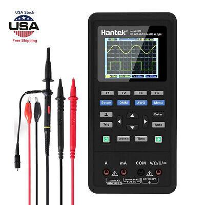 Lcd Hantek 2d72handheld 70mhz Bandwidth 3 In1 Oscilloscope Multimeter Tester Us