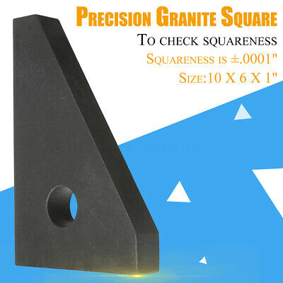 SURFACE ANGLE PLATE Cake Pans HHIP 4901-2705 10X6X1'' Precision Granite -