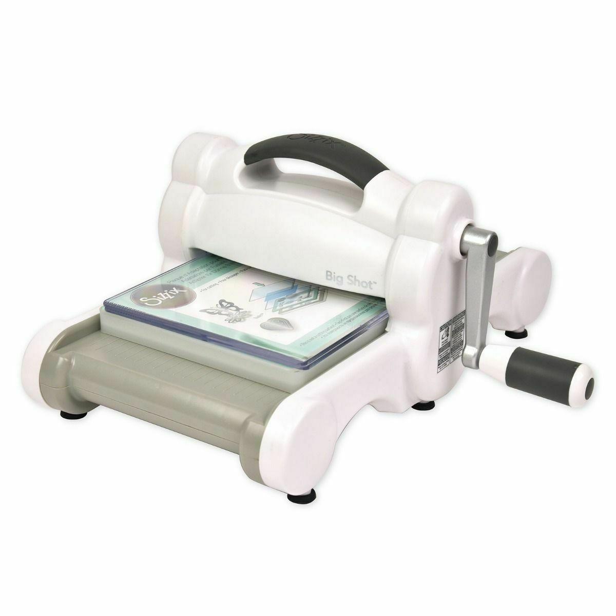 Sizzix Big Shot Maschine (White Gray) Stanzmaschine Prägemaschine