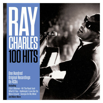 Ray Charles 100 HITS Best Of 100 Essential Songs COLLECTION New Sealed 4