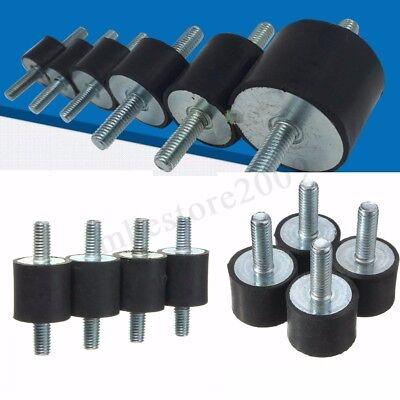 4x M10 M5m6m8 Anti Vibration Rubber Mounts Isolators Bobbins Silentblock New