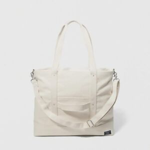 Brand new!  Abercrombie & Fitch canvas big tote bag
