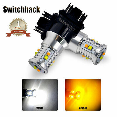 3157 Switchback LED Turn Signal DRL Parking Lights Bulbs for Ram 1500 1994-2010