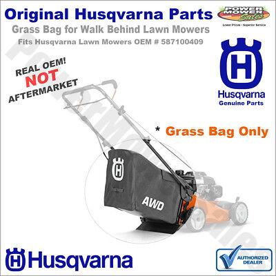Husqvarna 587100409 Lawn Mower Grass Bag Genuine Original Eq