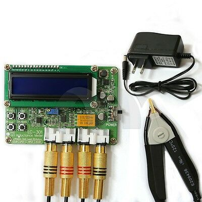 Lc301 Smd Nh Inductance Tester 0.1nh-50uh Resolution 0.1nh Inductance Meter