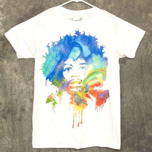 Bob Marley Mens T Shirt Size M Bravado White
