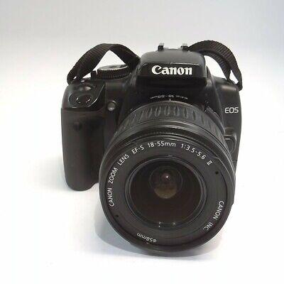 Canon EOS Rebel XTi 10.1 MP DSLR Camera w/Canon Zoom Lens 18-55mm II #3212