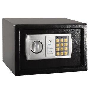 12 5 electronic digital lock keypad safe box cash jewelry. Black Bedroom Furniture Sets. Home Design Ideas