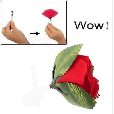 WOW! Rose aus Feuer ! Zaubertrick Zauberartikel zaubern