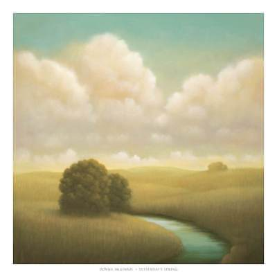 Donna McGinnis Yesterdays Spring Poster Kunstdruck Bild 67x67cm - Germanposters