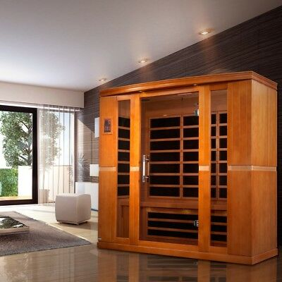 Dynamic 4 Per Far Infrared Sauna Bergamo Edition 9 Carbon Heating Panel Low EMF