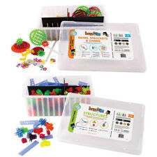 823 pc Structures & Gears Set Brackitz Educational Building Toys PreK-6