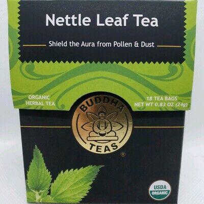 Buddha Teas Certified Organic Nettle Leaf Tea 18 Tea -