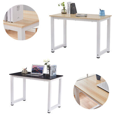 Wood Computer Desk Office Study Writing Table Laptop Workstation Home Furniture