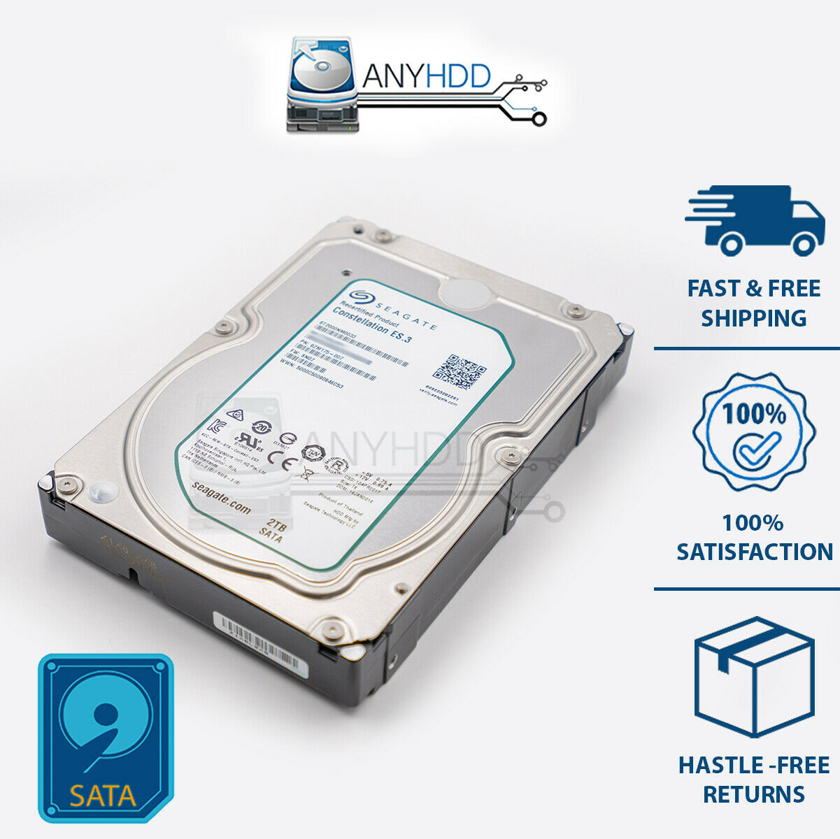 Renewed 2TB Constellation.ES SATA