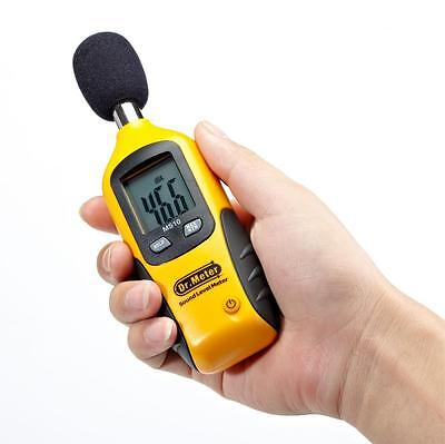 40-130db Digital Sound Pressure Level Meter Decibel Noise Tester Lcd Measurement