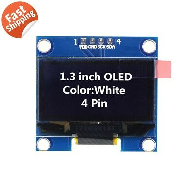 1.3 Ssd1106 I2c 128x64 Oled Display Module Board For Arduino White Us Seller