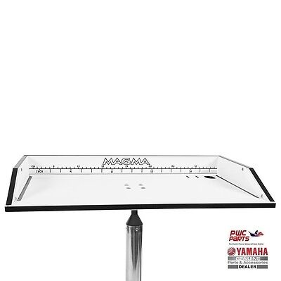 MAGMA LEVELOCK Bait/Filet Mate Table with Mount SBT-T1031-B0-17 ()