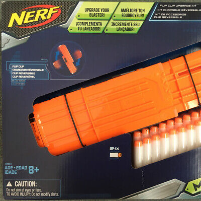 NEW Nerf N-Strike Modulus Flip Clip Upgrade Kit With 24 Darts