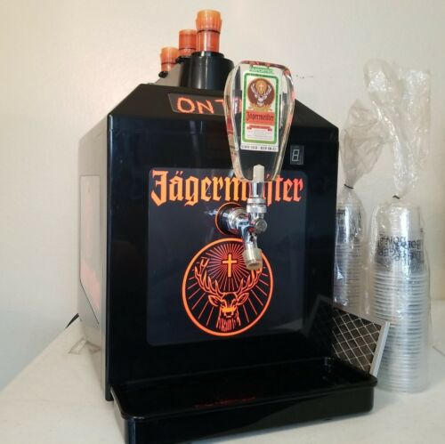Jagermeister Black Tap Machine 3 Bottle Shot Chiller Model Jemus Working/Tested