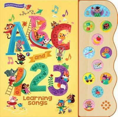 Abc And 123 Learning Songs W  11 Sounds By Beatrice Costamagna   Brand New