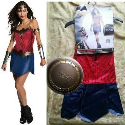 Shield Costumes ($50 Womens Wonder Woman Adult Dc Superhero Cosplay Costume & Shield)