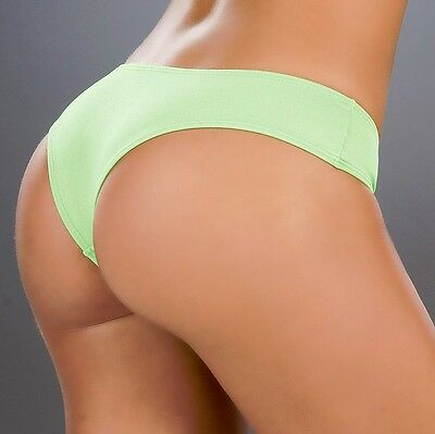 (3002 Hot Green Lime Booty Boy Shorts Yoga Gym Hipster Roller Dancer RAVE S M L)