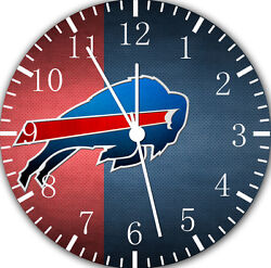 Buffalo Bills wall Clock 10 will be nice Gift and Room wall Decor E195