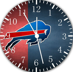 Buffalo Bills Frameless Borderless Wall Clock For Gifts or Home Decor E195