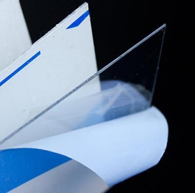 Us Stock 2pc 2mm X 200mm7.8 X 200mm7.8 Clear Polycarbonate Lexan Pc Sheet
