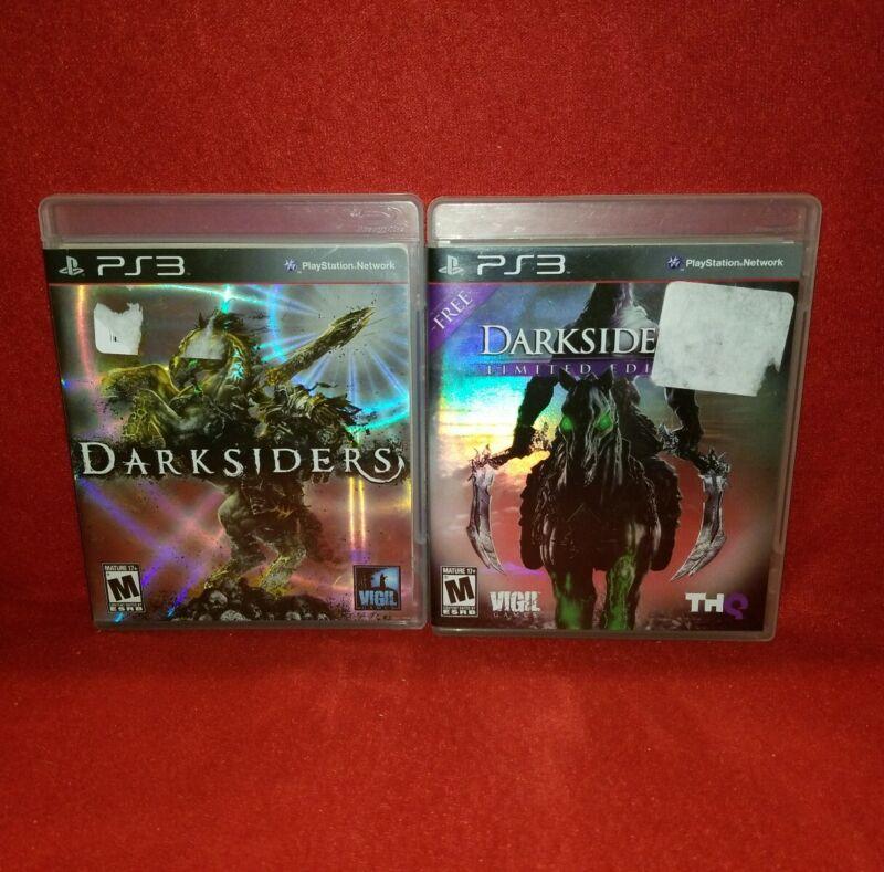 Darksiders PS3 LOT! Darksiders & Darksiders II (Playstation 3 2009/2012)
