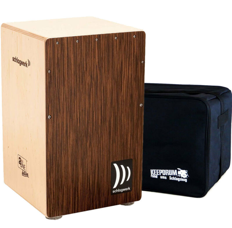 Schlagwerk CP 430 2inOne Snare Cajon Large + Keepdrum Gig Bag