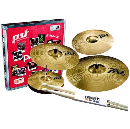 PAISTE PST3 Set 14/16/20 Cymbal Set +14